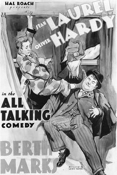 Best Comedy Movies of 1929 : Berth Marks