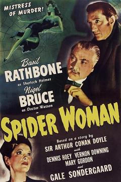 Best Mystery Movies of 1943 : The Spider Woman