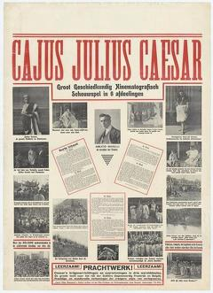 Best History Movies of 1914 : Cajus Julius Caesar