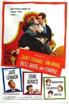 Best Fantasy Movies of 1958 : Bell, Book and Candle