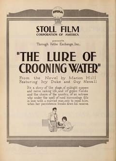 Best Romance Movies of 1920 : The Lure of Crooning Water
