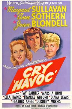 Best Drama Movies of 1943 : Cry 'Havoc'