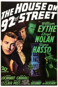Best Action Movies of 1945 : The House on 92nd Street