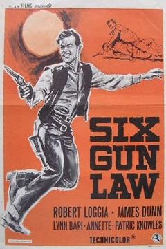 Best Western Movies of 1962 : Six Gun Law