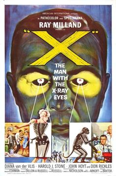 Best Horror Movies of 1963 : X: The Man with the X-Ray Eyes