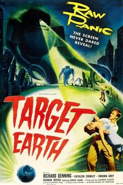 Best Science Fiction Movies of 1954 : Target Earth