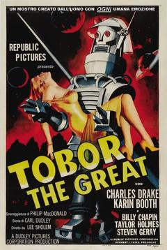 Best Science Fiction Movies of 1954 : Tobor the Great