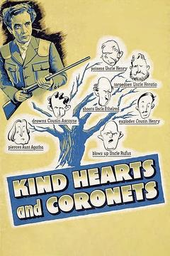 Best Comedy Movies of 1949 : Kind Hearts and Coronets