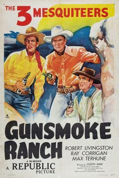 Best Action Movies of 1937 : Gunsmoke Ranch
