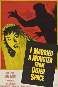 Best Horror Movies of 1958 : I Married a Monster from Outer Space