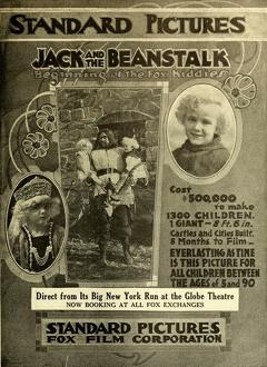 Best Fantasy Movies of 1917 : Jack and the Beanstalk