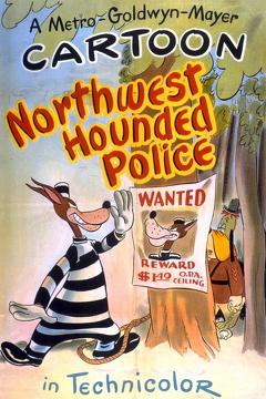 Best Animation Movies of 1946 : Northwest Hounded Police