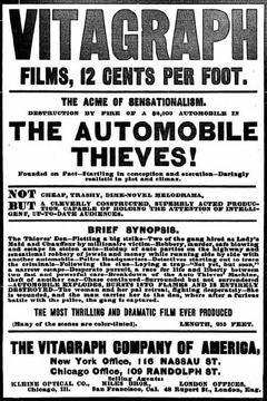 Best Crime Movies of 1906 : The Automobile Thieves