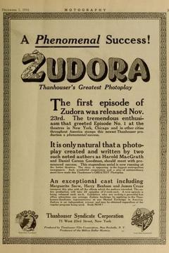 Best Mystery Movies of 1914 : Zudora