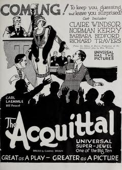 Best Mystery Movies of 1923 : The Acquittal