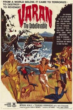 Best Science Fiction Movies of 1962 : Varan the Unbelievable