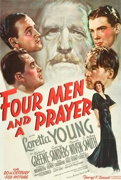 Best Mystery Movies of 1938 : Four Men and a Prayer