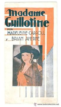 Best History Movies of 1931 : Madame Guillotine