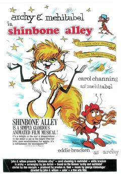 Best Music Movies of 1970 : Shinbone Alley