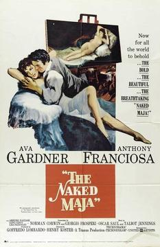 Best Adventure Movies of 1958 : The Naked Maja