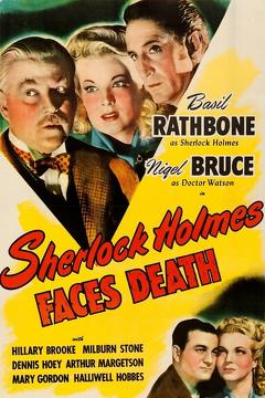 Best Mystery Movies of 1943 : Sherlock Holmes Faces Death