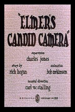 Best Animation Movies of 1940 : Elmer's Candid Camera