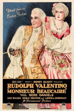 Best Romance Movies of 1924 : Monsieur Beaucaire