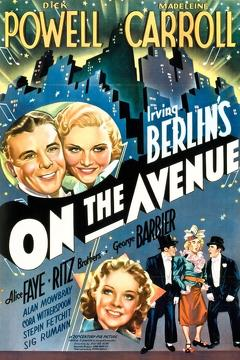 Best Music Movies of 1937 : On the Avenue