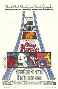 Best Animation Movies of 1962 : Gay Purr-ee