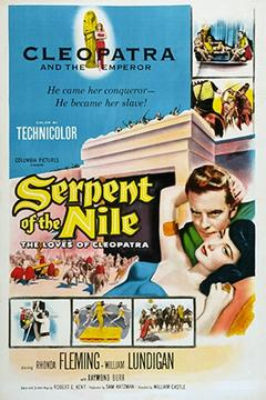 Best History Movies of 1953 : Serpent of the Nile