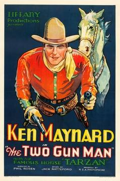 Best Western Movies of 1931 : The Two Gun Man