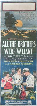 Best Adventure Movies of 1923 : All the Brothers Were Valiant