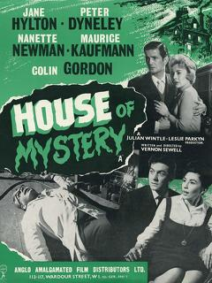 Best Horror Movies of 1961 : House of Mystery