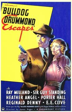 Best Action Movies of 1937 : Bulldog Drummond Escapes