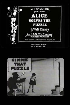 Best Animation Movies of 1925 : Alice Solves the Puzzle