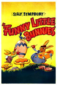 Best Animation Movies of 1934 : Funny Little Bunnies