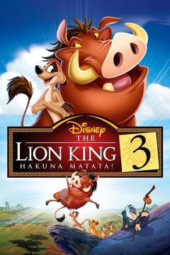 Best Family Movies of 2004 : The Lion King 1½
