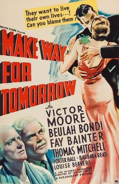Best Romance Movies of 1937 : Make Way for Tomorrow