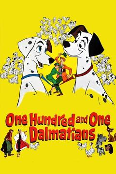 Best Adventure Movies of 1961 : One Hundred and One Dalmatians