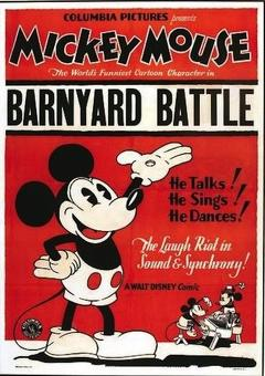 Best Animation Movies of 1929 : The Barnyard Battle