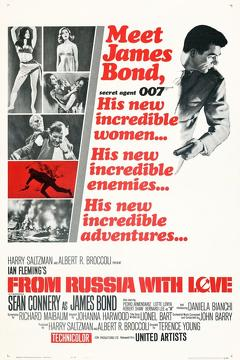 Best Action Movies of 1963 : From Russia with Love