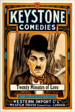 Best Comedy Movies of 1914 : Twenty Minutes of Love