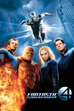 Best Fantasy Movies of 2007 : Fantastic Four: Rise of the Silver Surfer