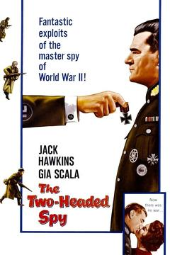 Best Thriller Movies of 1958 : The Two-Headed Spy