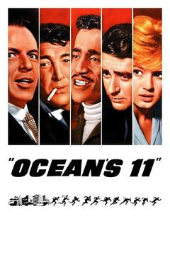Best Comedy Movies of 1960 : Ocean's Eleven