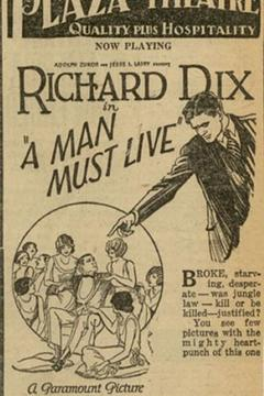 Best Adventure Movies of 1925 : A Man Must Live