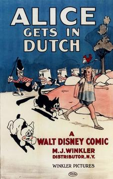 Best Animation Movies of 1924 : Alice Gets in Dutch