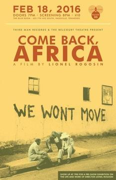 Best Documentary Movies of 1959 : Come Back, Africa