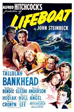 Best Thriller Movies of 1944 : Lifeboat