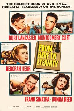 Best War Movies of 1953 : From Here to Eternity